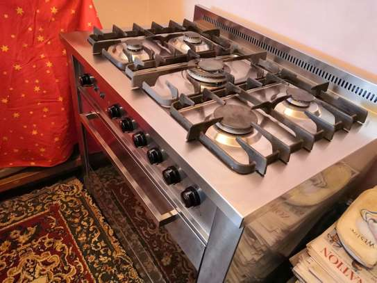Ariston 95GT/.01 S X/PRO 95 GT.01 S Professional Cooker - Stainless steel