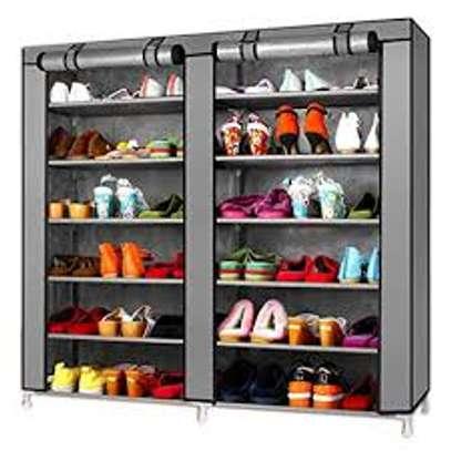 portable shoe racks image 1