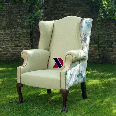 Wingback Accent Chairs. image 1