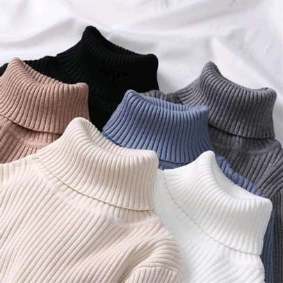 Knit Sweater Tops | Pull Neck image 2