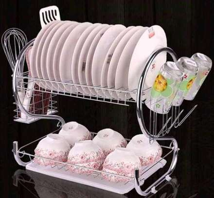 2layer dishrack/2tire dishrack/dish drainer image 3