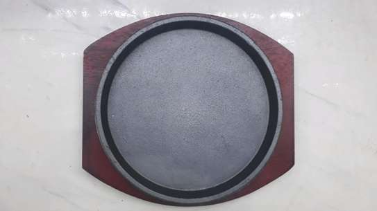 Sizzling plate/hot plate/nonstick plate/sizzler plate image 1