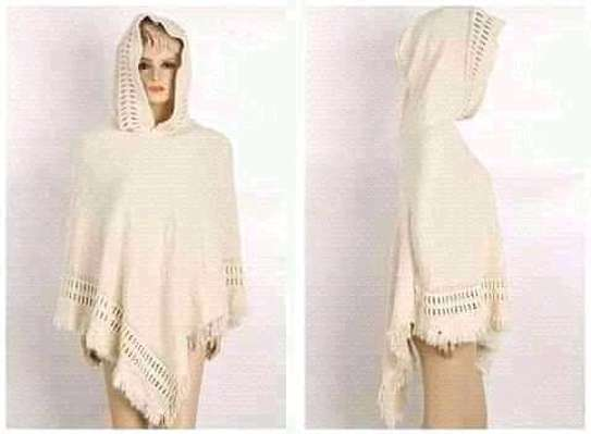 Hooded ponchos image 3