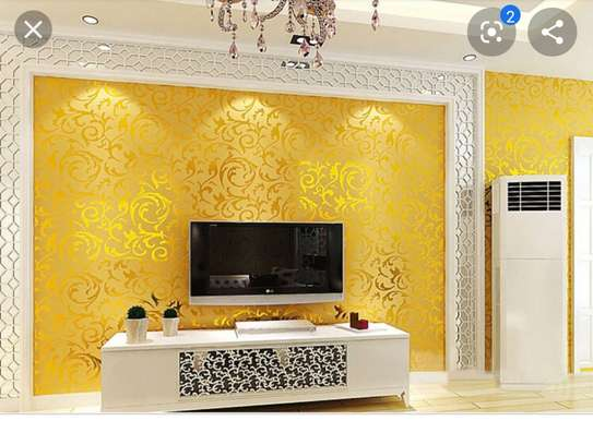 Wall paper for homes and business places image 5