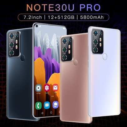 NOTE 30U+ PRO SMARTPHONE 12GB+512GB 7.2INCH FULL SCREEN MOBILE PHONE FINGER & FACE UN-LOCKED CELLPHONE @ KSH 18000/- image 7