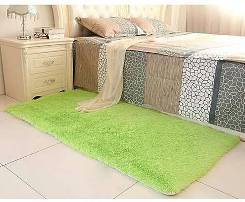bed side mats green in color image 1