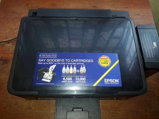 Epson L382 Multifunction Colour Ink Tank System 3-In-1 Printer image 3
