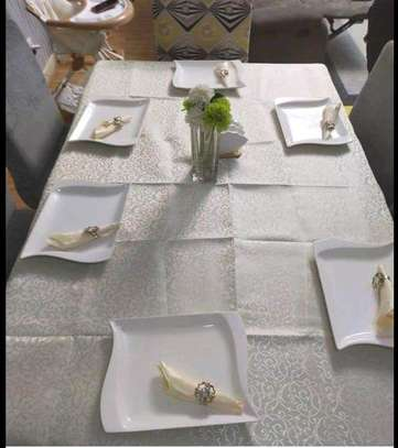Dining Table cloth and table napkins image 2