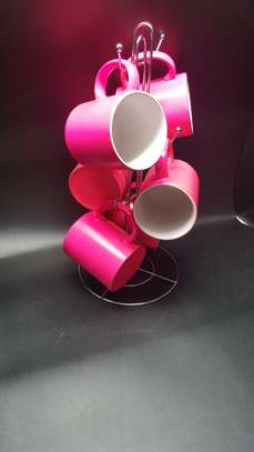 6 Pc Standard Color Mug image 2