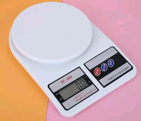 Digital kitchen weighing scale + 2 batteries image 3
