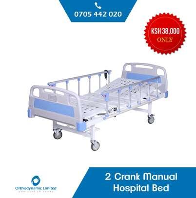 1 Crank Manual Hospital Bed  - single fold / function image 5