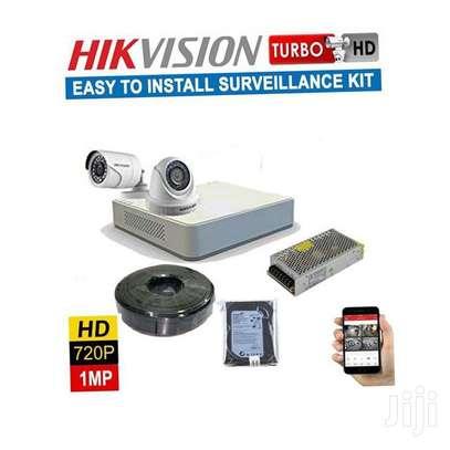 Two CCTV With IR Camera Hik Vision 1MP With IR Night Vision image 1