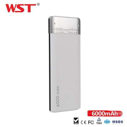 WST Power Bank Ultra Slim 6000mah image 2