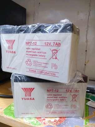 Yuasa 12V 7AH Valve Regulated Sealed Battery image 1