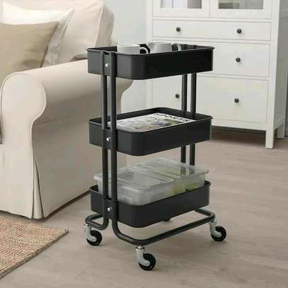 3tier movable trolley image 5