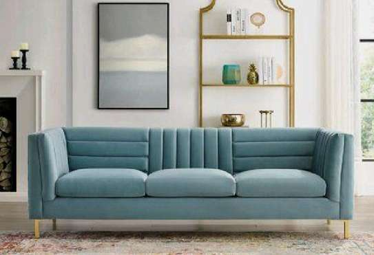 Classic sofas for sale in Nairobi Kenya/modern turquoise three seater sofas for sale in Nairobi Kenya image 1