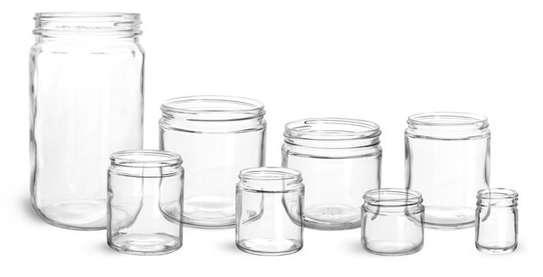 Multipurpose Storage Glass Jars, 28g/ml to 2kg/ml image 6