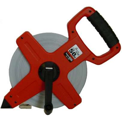 Steel tape measure 30,50 and 100m image 1
