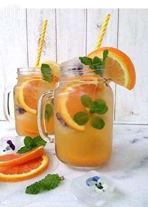 Mason Juice Smoothie Drink Kid Child Adult Home Party Mug image 8
