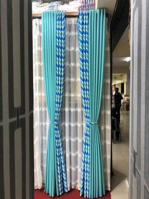 STYLISH SHEERS AND CURTAINS PER METRE @ 1300/= image 1