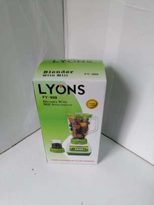 Lyons FY-999  2 in 1 Blender with Grinding Machine image 1
