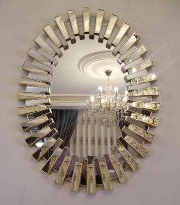 Cherub ovall Wall Mirror. image 2