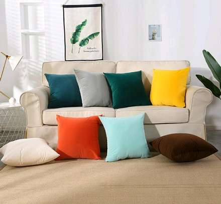 PLAIN ELEGANT THROW PILLOWS image 1