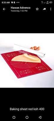 Baking mat red image 1