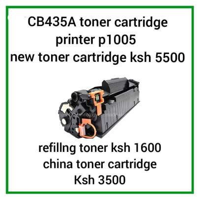 P1005 LaserJet  toner cartridge black CB435A image 2