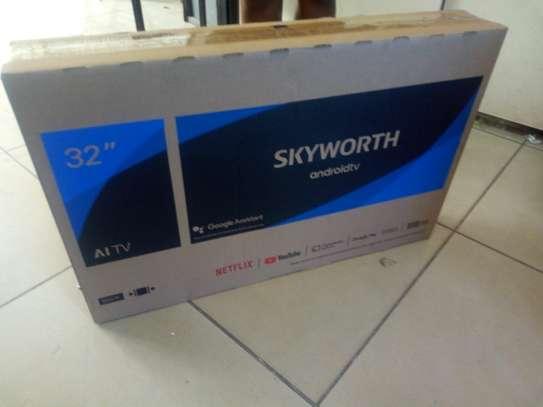 "Sky worth 32"" smart android TVqq image 1"