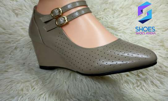 Strap wedge shoes image 5