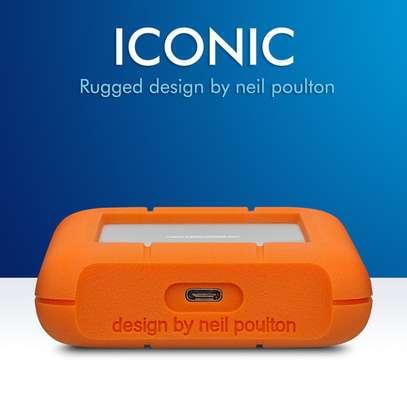 LaCie 2TB Rugged USB 3.1 Gen 1 Type-C External Hard Drive image 3