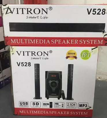 vitron V528 2.1CH Multimedia Speaker System - Black image 1