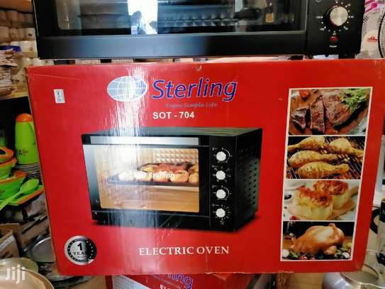 Sterling Electric Oven 100ltrs Capacity Include 1yr Warranty image 3