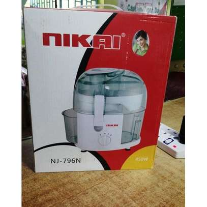 Nikai Fruit And Vegetable Juice Extractor /Electric Juicer 450w image 1