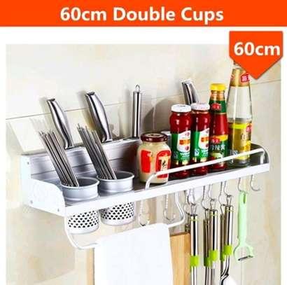Wall mounted kitchen shelf image 2