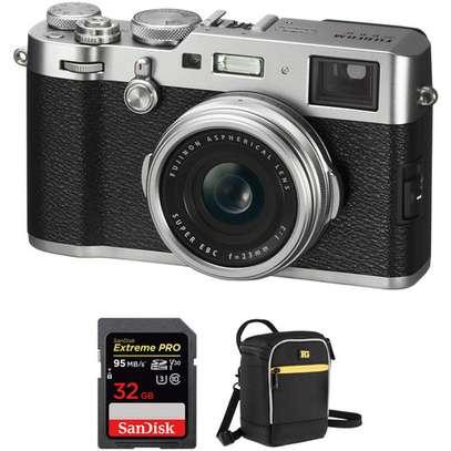 FUJIFILM X100F Digital Cameras with Free Accessory Kit (Silver) image 1