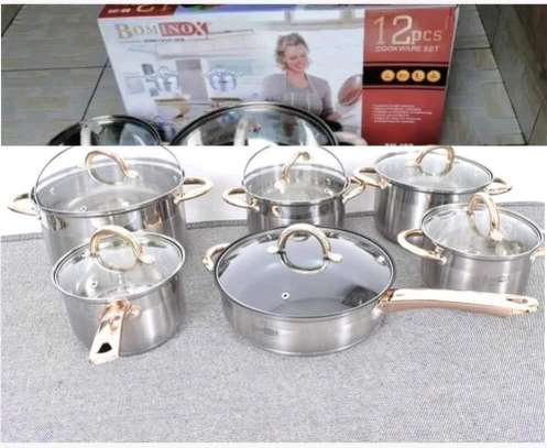 Bohminox 12pcs Cookware set image 1