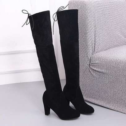 Suede long boots image 1