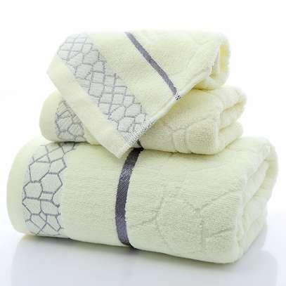 3pcs Towels cotton/ polyester image 2