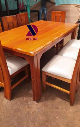 8 Seater Mahogany Dining Table Sets. image 2