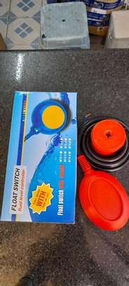 Round Float Switch Sealed Fluid Level Controller Red image 2