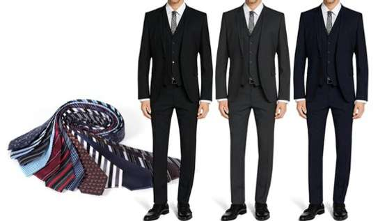 Slim Fit Men Suit image 1