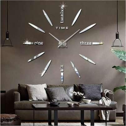 3D diy wall clock image 2