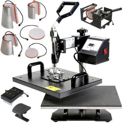 5 in 1 Multiuse Heat Press Machine image 1