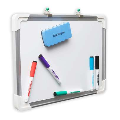 6x4 Wall Mounted Whiteboards Ready in stock.Best for Offices,Classroom, Churches. Inclusive of Markpens and Duster image 1