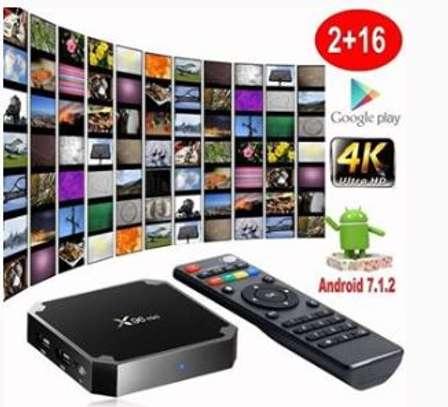 Android tv box 4K 16gb memory image 1