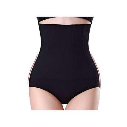 Generic slimming corsets waist trainer slimming belts strap - Black