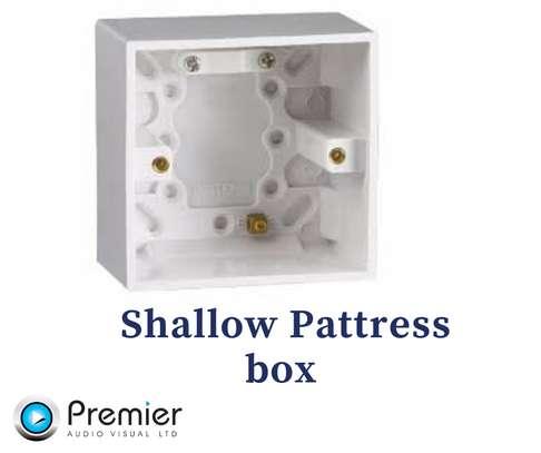 Shallow Pattress Box (200pcs) image 1