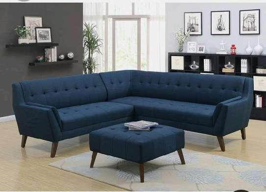 Blue six seater sofas for sale in Nairobi Kenya/modern sofas/L shaped sofa/tufted sofas kenya/six seater sofa/modern design sofas image 1